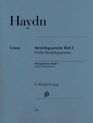 Joseph Haydn - Quatuors à cordes volume I (Quatuors de début) - Partition - di-arezzo.fr