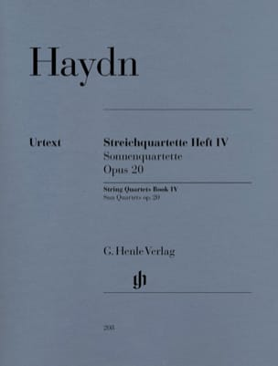 HAYDN - String quartets volume IV, op. 20 - Sheet Music - di-arezzo.com