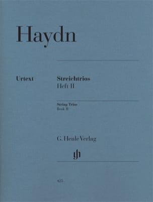 Joseph Haydn - Streichtrios - Heft 2 : Hob. 5 : 15-21 –Stimmen - Partition - di-arezzo.fr