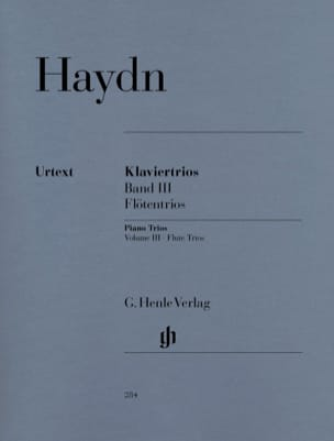 HAYDN - Trios with piano, volume 3 for piano, flute or violin and cello - Sheet Music - di-arezzo.co.uk