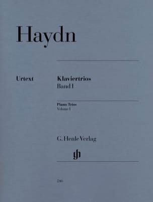 HAYDN - Trii con piano, volume 1 - Partitura - di-arezzo.it