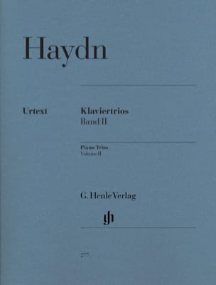 Joseph Haydn - Trios avec piano, volume 2 - Hob. 15 : 5-14 - Partition - di-arezzo.fr