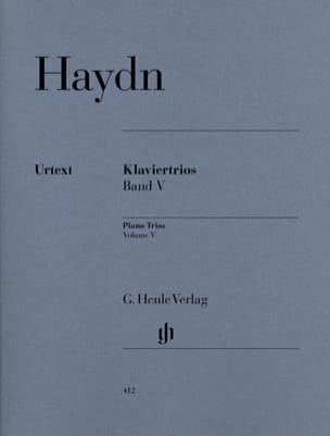 HAYDN - Trios with piano, volume 5 - Sheet Music - di-arezzo.com
