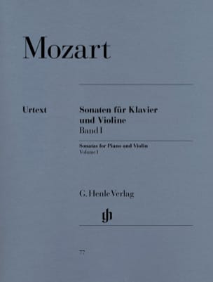 Wolfgang Amadeus Mozart - Sonatas for violin, volume 1 - Sheet Music - di-arezzo.co.uk