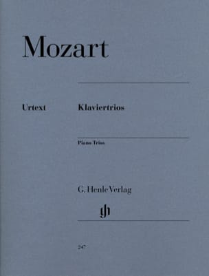 MOZART - Klaviertrios - Sheet Music - di-arezzo.co.uk