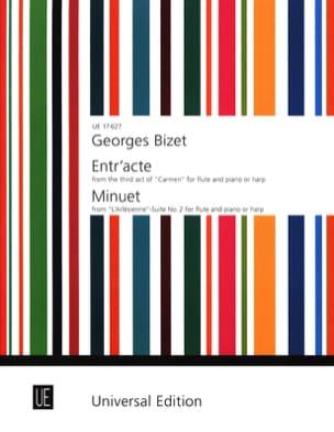 Entr'acte (Carmen) / Minuet (Arlésienne Suite 2) – Flute piano (harp) - laflutedepan.com