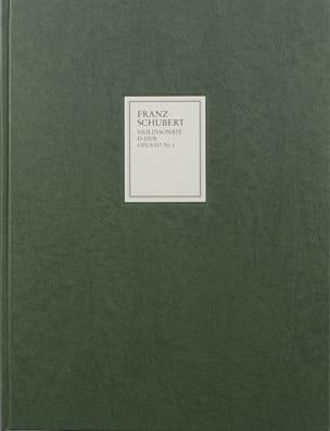 Sonate Sonatine en Ré Majeur Op. 137 N° 1 D 384 Pour Piano et Violon - laflutedepan.com