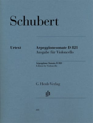 Franz Schubert - Sonata for piano and arpeggione in A minor D 821 - Sheet Music - di-arezzo.com