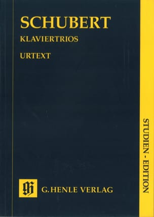 SCHUBERT - Klaviertrios - Partitur - Sheet Music - di-arezzo.co.uk