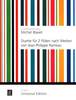 Duette nach Werken von Rameau - 2 Flöten Michel Blavet laflutedepan