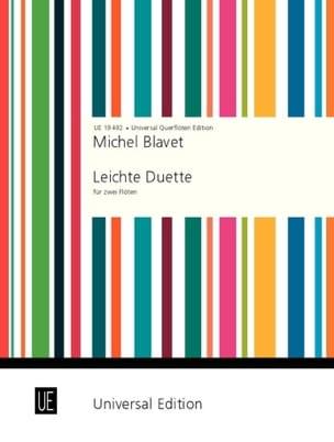 Leichte Duette – 2 Flöten - Michel Blavet - laflutedepan.com