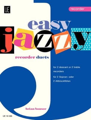 Brian Bonsor - Easy Jazzy Duets - Recorders - Sheet Music - di-arezzo.co.uk