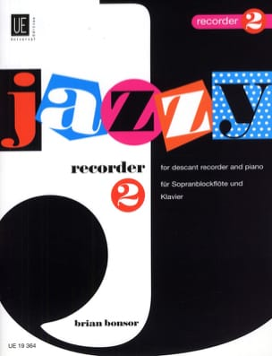 Brian Bonsor - Jazzy Recorder 2 - Partition - di-arezzo.fr