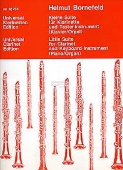 Helmut Bornefeld - Kleine Suite - Klarinette Tasteninstrument - Partition - di-arezzo.fr