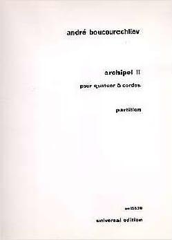 Archipel 2 André Boucourechliev Partition Quatuors - laflutedepan