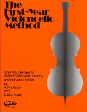 Benoy A. W. / Burrowes L. - First-year Violoncello method - Partition - di-arezzo.fr
