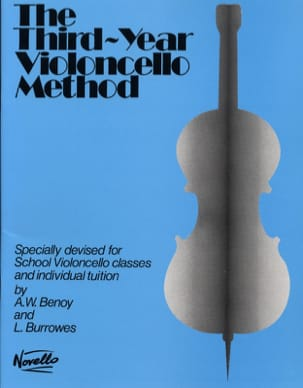 Third-year Violoncelle method Benoy A. W. / Burrowes L. laflutedepan