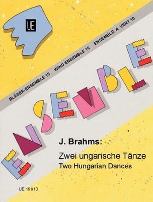 BRAHMS - 2 Ungarische Tänze - Bläser-Ensemble - Sheet Music - di-arezzo.co.uk