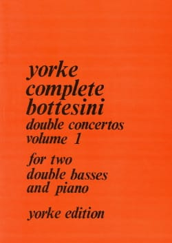 Giovanni Bottesini - Double concertos - Volume 1 - Partition - di-arezzo.fr