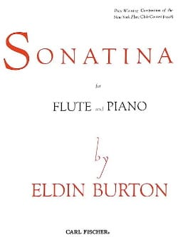 Eldin Burton - Sonatina - Flute and Piano - Sheet Music - di-arezzo.com