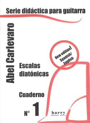 Cuaderno N° 1 Abel Carlevaro Partition Guitare - laflutedepan