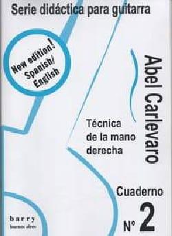 Cuaderno N° 2 Abel Carlevaro Partition Guitare - laflutedepan