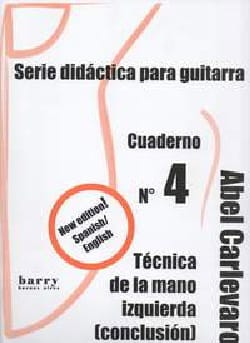 Cuaderno N° 4 Abel Carlevaro Partition Guitare - laflutedepan