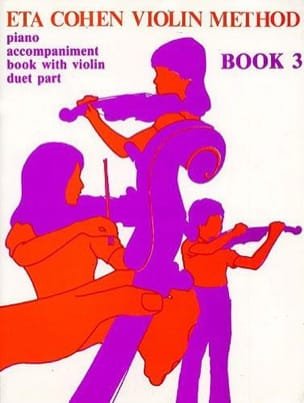 Eta Cohen - Violin Method, Volume 3 - Piano accomp. - Sheet Music - di-arezzo.com