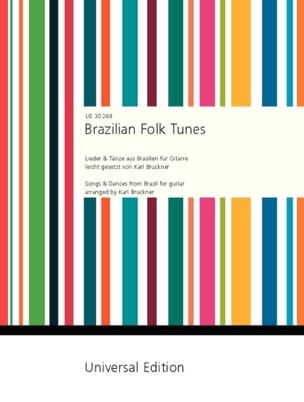 Karl Bruckner - Brazilian Folk Tunes - Sheet Music - di-arezzo.co.uk