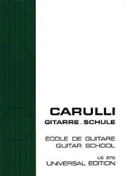 Ferdinando Carulli - Ecole de guitare - Partition - di-arezzo.fr