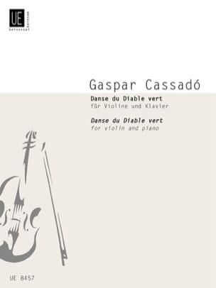 Gaspar Cassadó - Danse du Diable vert – Violon - Partition - di-arezzo.fr