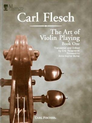 The Art Of Violin Playing Volume 1 - Carl Flesch - laflutedepan.com
