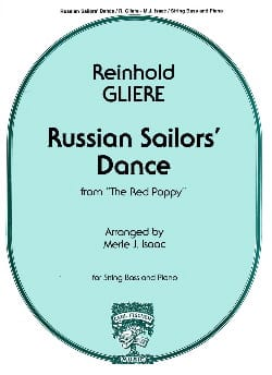 Reinhold Glière - Russian Sailor's Dance – String bass - Partition - di-arezzo.fr