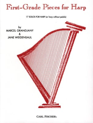 Grandjany Marcel / Weidensaul Jane - First-Grade Pieces for Harp - Sheet Music - di-arezzo.co.uk
