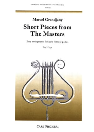 Marcel Grandjany - Short pieces from the Masters - Partition - di-arezzo.fr