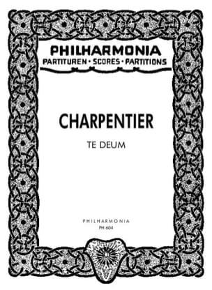 Marc-Antoine Charpentier - Te Deum – Partitur - Partition - di-arezzo.fr