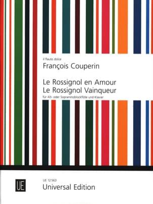 Le rossignol en amour - Le rossignol vainqueur COUPERIN laflutedepan