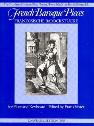 Frans Vester - French Baroque Pieces - Flute - Sheet Music - di-arezzo.com