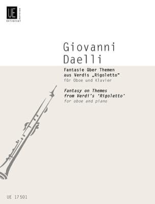 Giovanni Daelli - Fantasie über Themen aus Verdis Rigoletto - Oboe Klavier - Sheet Music - di-arezzo.com