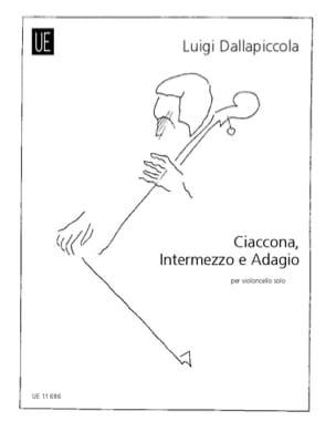 Luigi Dallapiccola - Ciaccona, Intermezzo E Adagio (1945) - Partition - di-arezzo.fr