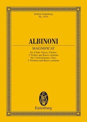 Tomaso Albinoni - Magnificat - Sheet Music - di-arezzo.co.uk