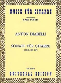 Sonate C-Dur op. 29/1 für Gitarre - laflutedepan.com