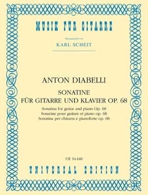 Sonatine für Gitarre und Klavier op. 68 - laflutedepan.com