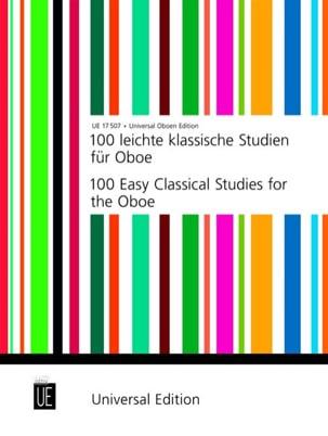 Joppig Gunther / McColl Anthony - 100 Leichte klassische Studien für Oboe - Sheet Music - di-arezzo.com