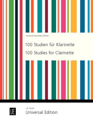 Joppig Gunther / Trier Stephen - 100 Studien für Klarinette - Sheet Music - di-arezzo.co.uk