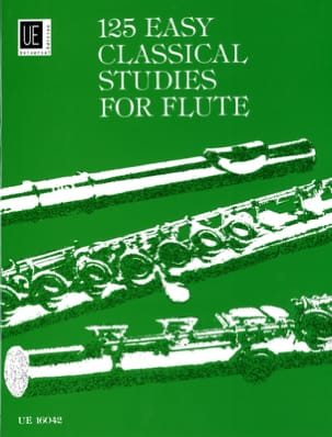 125 Easy Studies for Flute Frans Vester Partition laflutedepan