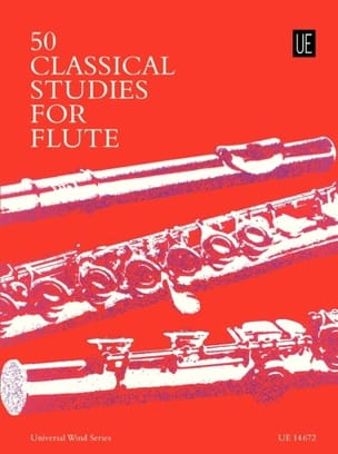 Frans Vester - 50 Classical Studies For Flute - Sheet Music - di-arezzo.com
