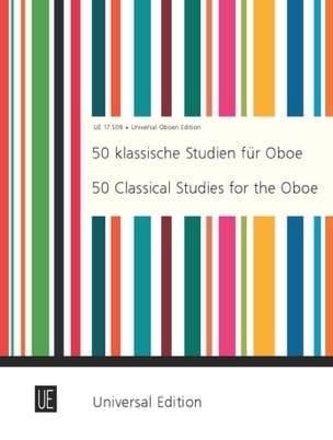 Joppig Gunther / McColl Anthony - 50 Klassische Studien für Oboe - Partition - di-arezzo.fr