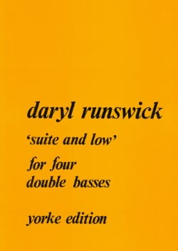 Daryl Runswick - Suite and low - Partition - di-arezzo.fr