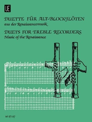 Duette for Alt-blockflöten - Renaissancemusik - Sheet Music - di-arezzo.com